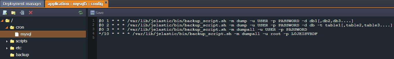 database manage