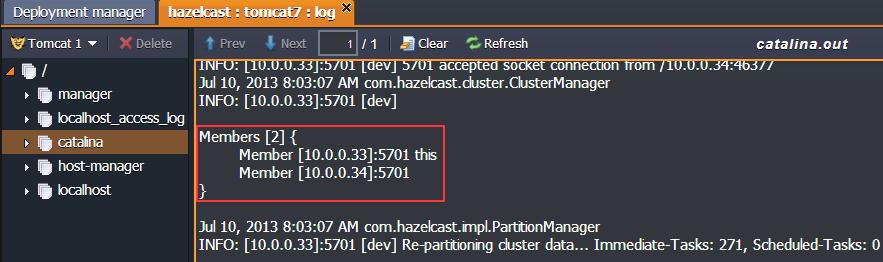 hazelcast cluster